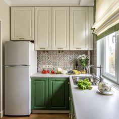 The 30 Second Trick For Statement Kitchen 00157 - decorurge Kitchen Cabinets In Bathroom, Kitchen Interior, Kitchen Decor, Sweet Home, Cocinas Kitchen, Diy Kitchen Remodel, Bath Remodel, Green Kitchen, Cuisines Design