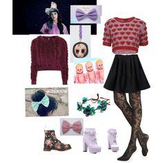 """Melanie Martinez inspired fashion"" by mykittycats on Polyvore"
