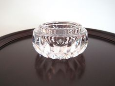 Waterford Heavy Genuine 24 Lead Crystal Cut Glass Ashtray RARE | eBay $67.46