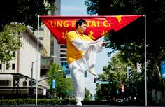 Amazing root and flexibility shown by Chen Bing, namesake of Chen Bing Taiji Academy USA. Silver Lake, Tai Chi, Chen, Martial Arts, Flexibility, Photo And Video, Usa, Amazing, Back Walkover