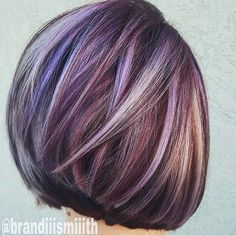 """""""CONGRATULATIONS @brandiiismiiith for being our runner up #2 to the PURPLE HAZE color contest! Keep the #modernsalon entries coming! Winner will be…"""""""