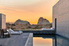 Allez voir cette image sur jet-lag-trips: L'Amangiri hôtel perdu dans le désert...