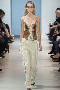 Paco Rabanne Spring 2016 Ready-to-Wear Fashion Show - Model: Harleth Kuusik (Elite)