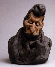Honoré Daumier - Jean-Auguste Chevandier de Valdrome Parliamentarian (The Fool)