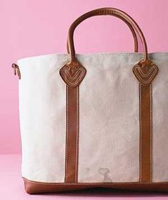 Quick tips on how to clean a stained tote bag.