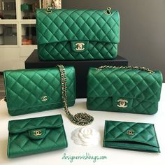 bd7aec8445b9 Luxury Bags, Luxury Handbags, Best Handbags, Green Bag, Chanel Handbags,  Gucci