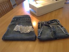 Little bags from an old jeans