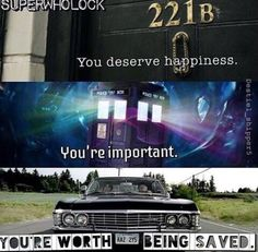 Some encouragement from Superwholock. I think we could all do with this right about now.