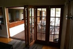 french doors bifold - Google Search French Doors, Home Improvement, Google Search, Room, Furniture, Home Decor, Bedroom, Decoration Home, Room Decor