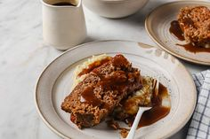 Old Fashioned Meatloaf - Serve it alongside mashed cauliflower & gravy and you've got the perfect keto comfort food. Made with ground beef, Italian sausage, garlic, dry onion soup mix, & tomato paste Low Carb Bbq Sauce, Low Carb Ketchup, Best Gluten Free Recipes, Low Carb Recipes, Cooking Recipes, Ketogenic Recipes, Ketogenic Diet Meal Plan, Paleo Diet, Best Keto Meals