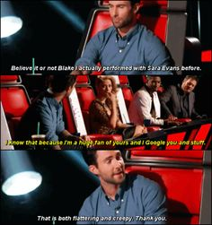 Adam Levine and Blake Shelton - best TV rivalry (and the most fun to watch)