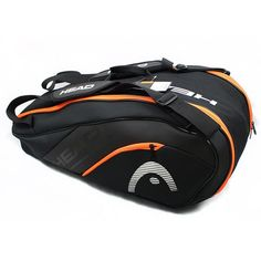 acdaa41f998 Head Tennis Racket Bag For 6-9 Rackets With Shoe Bag High Quality