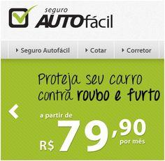 Seguro #automotivo Auto Fácil a partir de R$79.90