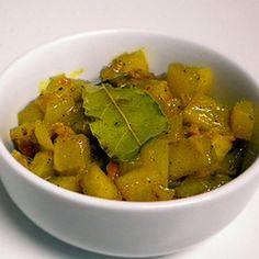 Green Papaya chutney – Achali ya papai bichi Recipe with green papaya, lime juice, salt, vegetable oil, onions, tumeric, black pepper, cumin, fresh ginger, garlic, pepper, sugar