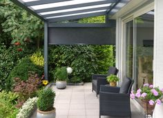 A Canopy Or Veranda For Your Garden | Interior Patio/terrace ... Bioklimatische Terrassenuberdachungen Biossun
