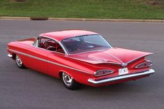 "1959    "" Whale tail ""   I had a lt. yellow EL CAMINO , drag racer in San Diego . Many trophies  !!!!!!!!   DON"