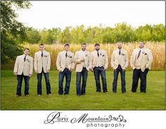 Paris Mountain Photography Wedding Photographer Atlanta  Foxwoods Tallapoossa Groomsmen