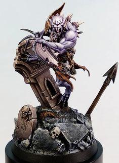 Warhammer Aos, Warhammer 40000, Warhammer Vampire Counts, Fantasy Miniatures, Mini Paintings, Figure Model, Figure Painting, Painting Inspiration, Workshop