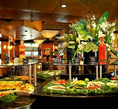Rodizio Grill the Brazilian Steakhouse restaurant featuring unlimited appetizers, over 30 gourmet salads, and seventeen plus rotisserie grilled meats and items.