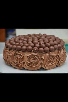 Gateau avec chocolat