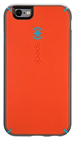 Speck Products MightyShell Case for iPhone 6/6S - Carrot Orange/Speck Blue/Slate
