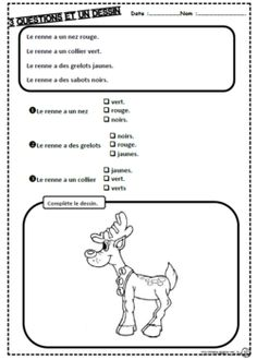 Learn French For Adults Esl Grade 1 Reading, French Worksheets, Core French, French Classroom, French Resources, French Language Learning, French Lessons, Teaching French, Learn French