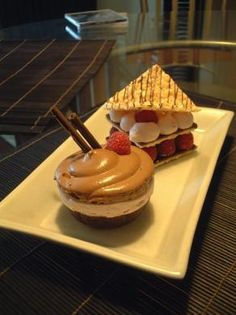 Brio Pastry Art - Plated Dessert Pictures