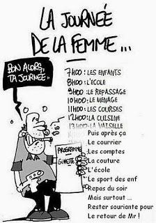 8 MARS 2014: JOURNÉE INTERNATIONALE DE LA FEMME