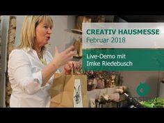 """Creativ Hausmesse sagt """"Moin Ostern"""" mit Imke Riedebusch Live-Demo - YouTube"""