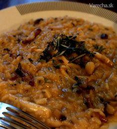 Krémové hubové risotto - Recept
