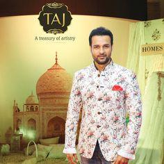 Actor Rohit Roy at Taj Santacruz #TajCollection #LaunchParty #HomesFurnishings #HomeDecor #HomeFabricCollection #RohitRoy #BollywoodActor