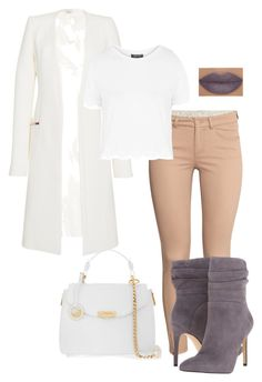 """""""Untitled #222"""" by xoxo-maneshass on Polyvore featuring H&M, Thierry Mugler, Topshop, Versace, She's So and GUESS"""