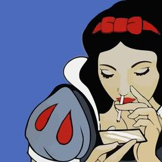 Stream Snow White by W X L L I X M from desktop or your mobile device Disney Kunst, Disney Art, Real Disney Princesses, Dark Disney, Twisted Disney, Psychedelic Art, Disney Wallpaper, Love Art, Urban Art