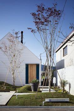 Facade, Entrance, Tropical, Gardens, Cabin, Landscape, Architecture, Detail, Building