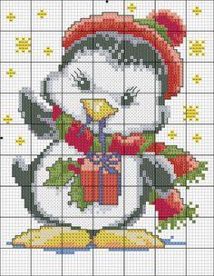 Christmas Penguin Chart