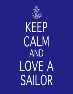 Keep Calm and Love a Sailor/Soldier/Marine/Coastie Print, $6