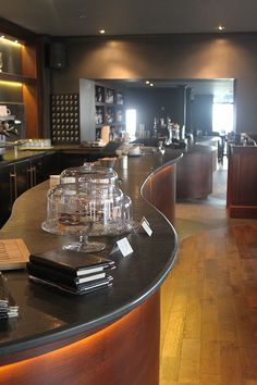 Gallery of commercial slate worktops for bars and restaurants that required hand crafted, bespoke designed and contemporary slate work surfaces. Slate Worktops, Slate Flooring, Garden Bar, Top Restaurants, Reception Areas, Work Surface, Work Tops, Basin, Custom Design