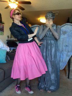 My Idiots Lantern Rose Tyler w/ my Weeping Angel