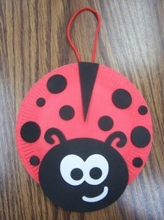 Paper plate crafts - page 2 - storytime katie animal crafts, camping crafts, spring Projects For Kids, Crafts For Kids, Arts And Crafts, Red Crafts, Paper Plate Crafts, Paper Plates, Ladybug Girl, Grouchy Ladybug, Bd Art