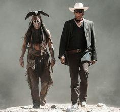 The Lone Ranger: Johnny Depp in an explosive new Japanese Trailer