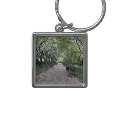 Conservatory Garden Central Park NYC Photography Keychain - photography picture cyo special diy