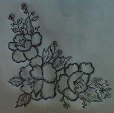 Simple Flower Designs   Drawings of Flowers