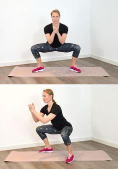 Das 3-Minuten-Workout für schlanke Beine Fitness Workouts, Yoga Fitness, At Home Workouts, Fitness Motivation, Beginner Workouts, Insanity Workout, Best Cardio Workout, Yoga Poses For Beginners, Loose Weight