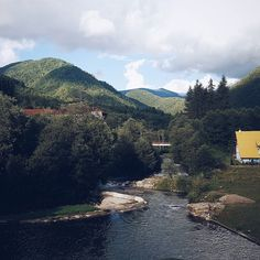 The beautiful view from our hostel window was magical when we traveled away from Timisoara and stayed in a small village in the Carpathian mountains.