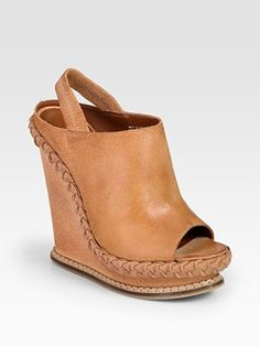 I love these Boutique 9 wedges. Such a great neutral color...