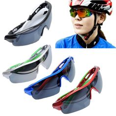 Professional Polarized Sunglasses Outdoor Sport Cycling Bicycle Riding Sunglasses Eyewear Goggle UV400 Lens Promotion #hats, #watches, #belts, #fashion, #style
