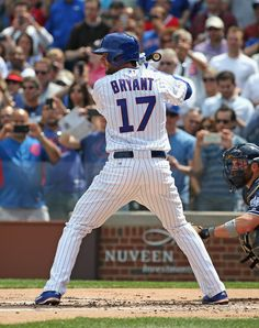Kris Bryant. April 17, 2015