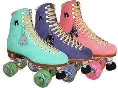 Moxi Lolly Roller Skates in Fairy Floss Teal <3