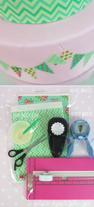 How to decorate a cake with edible icing sheets (Cake Central).