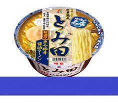 Myojo TOMITA Cup Instant Noodle Ramen Seafood Tonkotsu Shouyu Japan Rich Taste #MyojoTOMITA